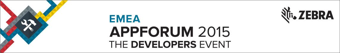 EMEA Appforum Banner